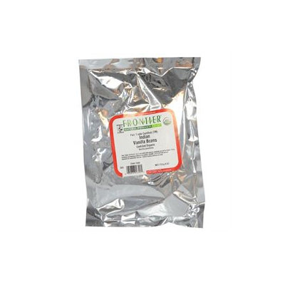 Frontier Vanilla Beans Indian Select Organic Fair Trade Certified - 4 oz (22-30 beans) Bag