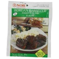 Noh Foods Of Hawaii BG16506 Noh Foods Of Hawaii Korean Bbq Seasoning Mix - 12x1.5OZ