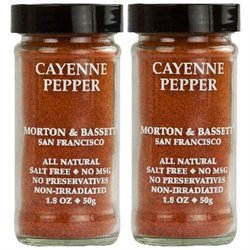 Morton & Bassett All Natural Cayenne Pepper - 1.8 oz