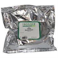 Frontier Natural Foods Frontier Natural Products BG13293 Frontier Mustard Seed Yellow Wh - 1x1LB