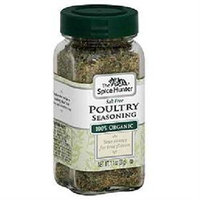 Spice Hunter BG18399 Spice Hunter Poultry Seas Sf - 6x0.6OZ
