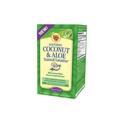 tures Secret Nature's Secret Soothing Coconut & Aloe Natural Laxative