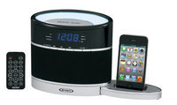 Jensen Docking Digital Music System for iPod & iPhone with Night Light