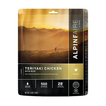Alpineaire Foods Alpine Aire Foods Chicken Teriyaki w/Rice Serves 2