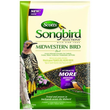 Scotts 1025300 Songbird Selections Midwestern Bird Seed Blend Wild Bird Food Bag, 4-Pound (Discontinued by Manufacturer)