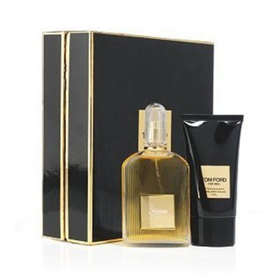Tom Ford by Tom Ford for Men 2 Piece Set Includes: 1.7 oz Eau de Toilette Spray + 2.5 oz After Shave Balm