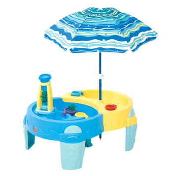 Step2 Shady Oasis Sand & Water Play Table, 1 ea