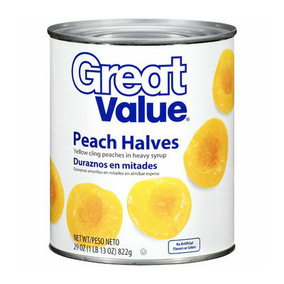 Great Value :  Peach Halves