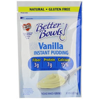 Better Bowls, Vanilla Pudding, 4.1 Ounce (Pack of 7)