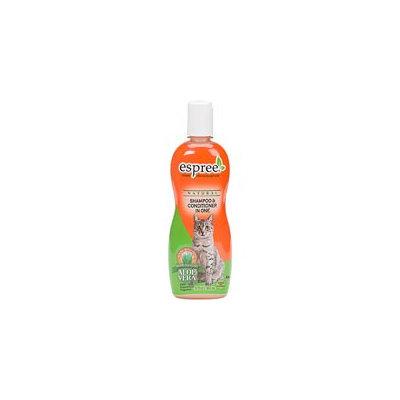 Espree Natural Dog & Cat Shampoo & Conditioner In One, 12 oz.