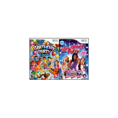 Birthday Party Bash and Sleepover Party 2Pack