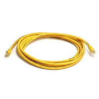 Monoprice 10FT 24AWG Cat6 550MHz UTP Bare Copper Ethernet Network Cable - Yellow