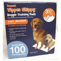 Sergeant's Yippie Skippy 100 Training Pads