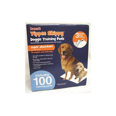 Sergeant's Yippie Skippy 100 Training Pads