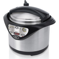 Oster Pressure Cooker - Silver/Black