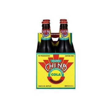China Cola Soda, 4 Packs of 6- 12oz bottles (24 total) ( Value Bulk Multi-pack)
