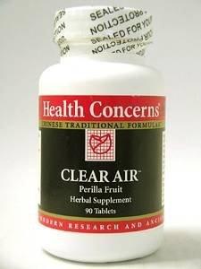 Health Concerns Clear Air 90t
