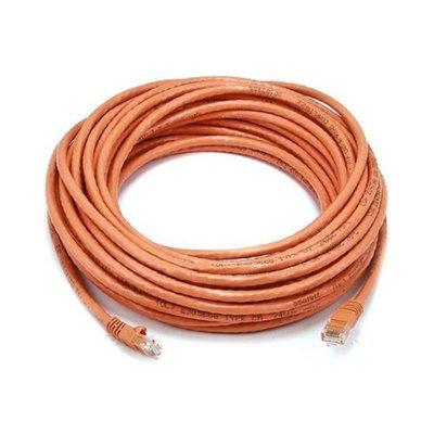Monoprice 50FT 24AWG Cat5e 350MHz UTP Bare Copper Ethernet Network Cable - Orange