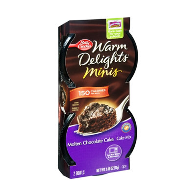 Betty Crocker Warm Delights Minis Molten Chocolate Cake Mix - 2 CT