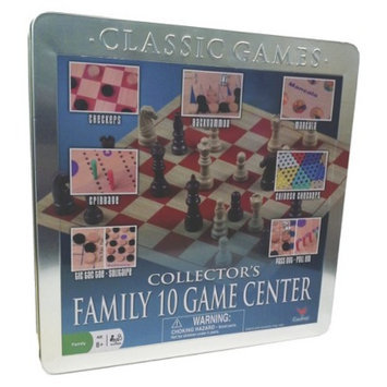 Family 10 In 1 Game Set Ages 6+