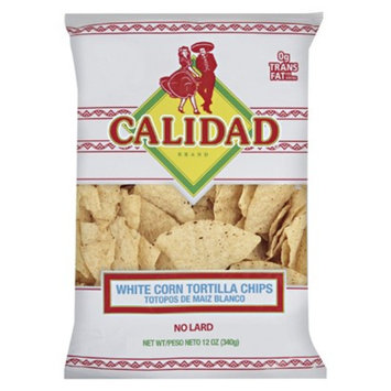 MISSION Calidad White Corn Chip 12 oz