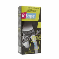 K Tape Pre-Cut Strips for Pain, Wrist or Knee, 4 ea