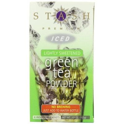 Stash Tea Company Stash Tea Lightly Sweetened Green Iced Tea Powder, 8 Count Packets (Pack of 6)