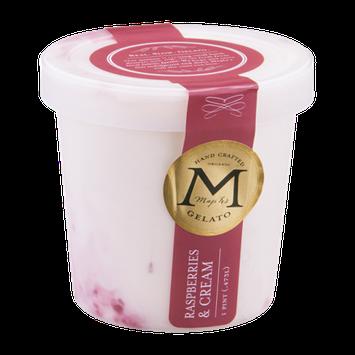 Maple's Organic Gelato Raspberries & Cream