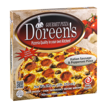 Doreen's Gourmet Pizza Italian Sausage & Pepperoni