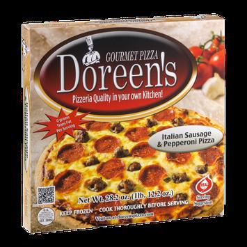 Doreen's Gourmet Pizza Italian Sausage & Pepperoni