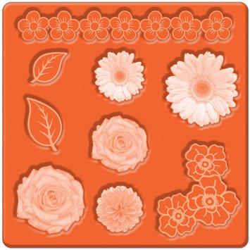 Plaid:craft Mod Podge Mod Mold - Flowers