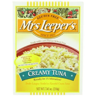 Mrs Leepers Mrs. Leeper's Creamy Tuna Dinner, 7.41-Ounce Boxes (Pack of 12)
