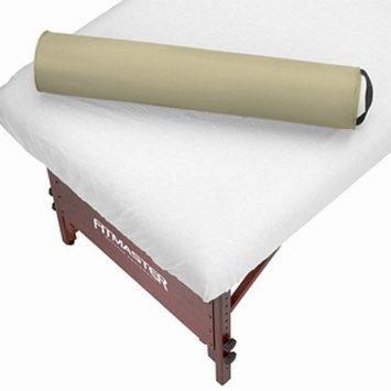 Master Massage SpaMaster Essentials Round Bolster 6 inch, Cream, 1 ea