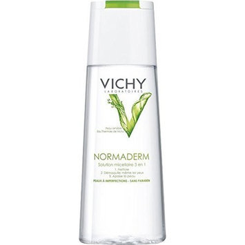 Vichy Normaderm Micellar Solution 200 Ml. Vichy Normaderm Micellar Solution for Imperfection Prone Skin 200 Ml.