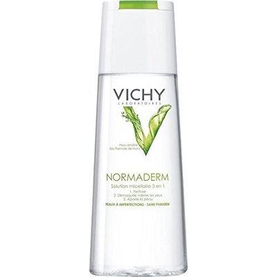 Vichy Normaderm Micellar Solution 200 Ml. Vichy Normaderm Micellar Solution for Imperfection Prone Skin 200 Ml.