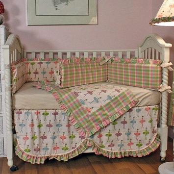 Hoohobbers Ballerina 4 Piece Crib Bedding Set