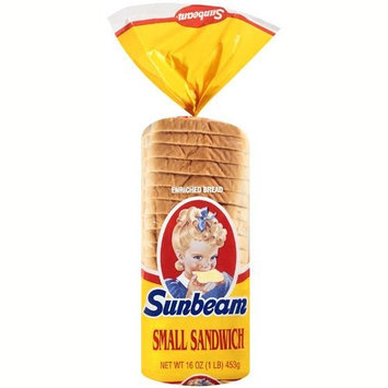 Sunbeam Small Sandwich Bread, 16 oz