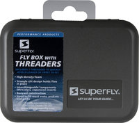 Superfly SuperFly Tri-Foam Fly Box with Threaders