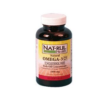 Natrul Health Omega 3 Fish Oil Concentrate 1000 Mg Softgels - 90 Ea