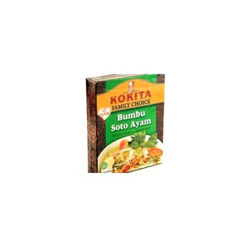 Bumbu Soto Ayam (Instant Spices for Chicken Soup )- 6.3oz by Kokita.