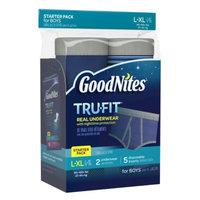 Goodnites Tru-Fit Real Underwear Starter Pack, L/XL, Boys, 7 ea