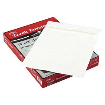 Survivor SURVIVOR 10 x 13 x 1 1/2 Tyvek Expansion Mailer- White (25 per Box)