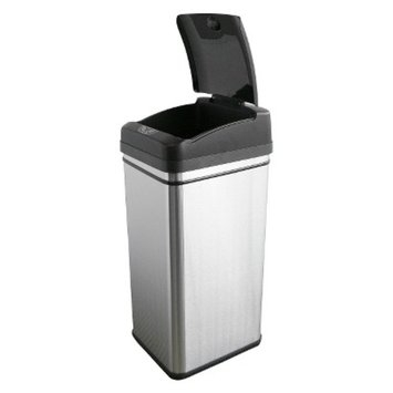 iTouchless Stainless Steel Touchless Trash Can
