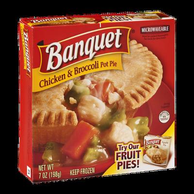 Banquet Chicken & Broccoli Pot Pie