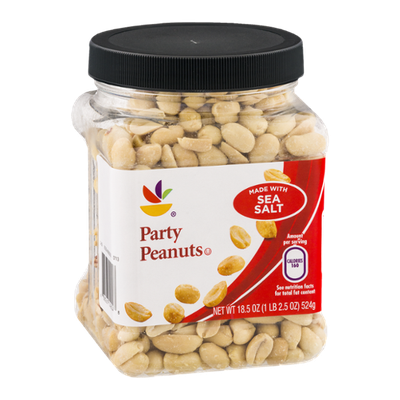 Ahold Party Peanuts with Sea Salt