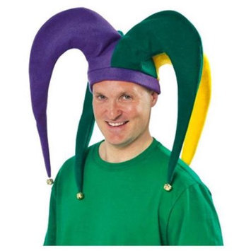 Amscan 391191AM Giant Mardi Gras Jester Hat
