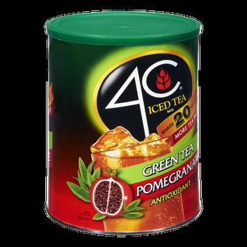 4C Iced Tea Green Tea Pomegranate Antioxidant Drink Mix