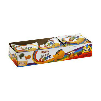 Pepperidge Farm Goldfish Colors Cheddar Baked Snack Crackers 9 pk