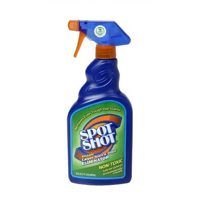Spot Shot 009716 Instant Carpet Stain & Odor Eliminator, 22 oz.