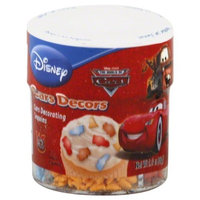 Cake Mate Disney Cars, 4 cell jar, 2.3-Ounce (Pack of 4)